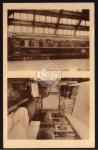 Bruxelles Expo 1935 Zug Waggon I. Klasse innen