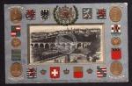 Luxembourg Wappen vielfach geprägt  1910 super