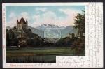 Thun Burg Blümisalp 1902