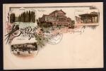 Litho 1896 Bad Schwalbach Weinbrunnen Kurhaus