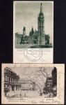 2 AK Budapest Mathias Kirche Vollbild 1898 Oper