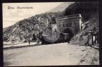 Brig Eisenbahn Lok Tunnel Simploneingang Nord