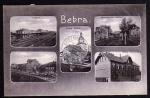 Bebra 1907 Bahnhof Neue Schue Breitenbacher St
