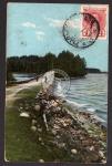 Punkaharju 1913 russ. Marke bildseitig