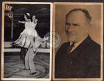 2 AK Milo Barus ex-stärkster Mann d. Welt Zirkus