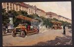 Feuerwehr Feuerwehrauto Künstlerkarte