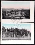 2 AK Ehrenthal Saarbrücken 1905 Germania 1907