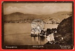 Chillon Wasserburg Photoglob Zürich 1897 Genf