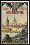 Innsbruck 1910 Katholikentag Offizielle Postka