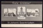 Sankt Johann Saarbrücken ca. 1910 Winterberg