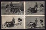 Leipzig 1910 Radrennen Guignard Huybrechts