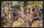 Prag Der alte Judenfriedhof Künstlerkarte 1916