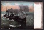 Torpedoboot in voller Fahrt 1912