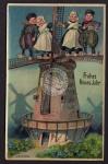 Windmühle Mole Galerieholländer Neujahr 1909