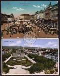 2 AK Zagreb Feldpost ca. 1918