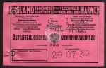 Fahrkarte Brenner Kufstein 1932 Fahrscheinheft