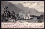 Lienz Tirol Kirche in Amlach Spitzkofel 1904