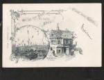 Gruss vom Rhein 1902 Künstlerkarte K. Krämer B