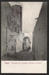 Tanger  1909 AK Mezquita de la Alcazaba