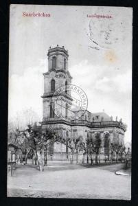 Saarbrücken Ludwigskirche 1914