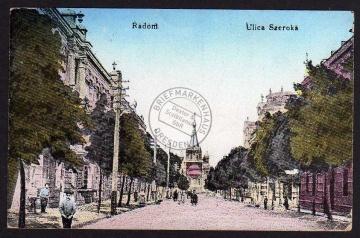 Radom Ulica Szeroka 1939