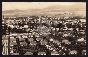 Presov pohland na juzni cast mesta 1951 Eperie