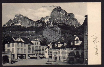 Schwyz mit Mythen 1905