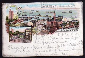 Helsingborg Hotel Mollberg 1896