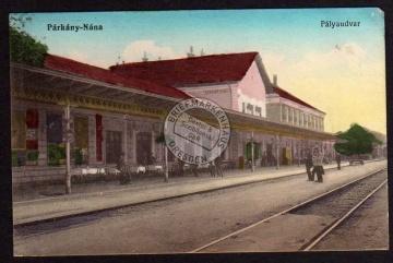 Štúrovo Parkany Nana Palyaudvar Bahnhof