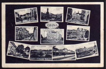 Zilina Žilina Hotel Bahnhof Straße 1931