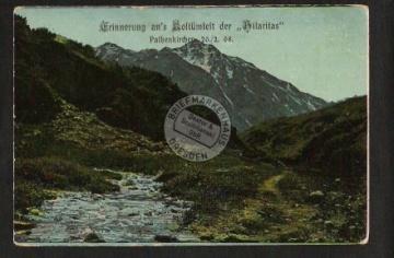 """Studentika """" Hilaritas """" Pathenkirchen 1908"""