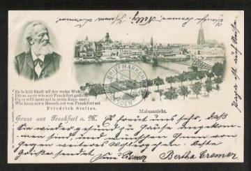 Frankfurt a. Main - Friedrich Stoltze 1898