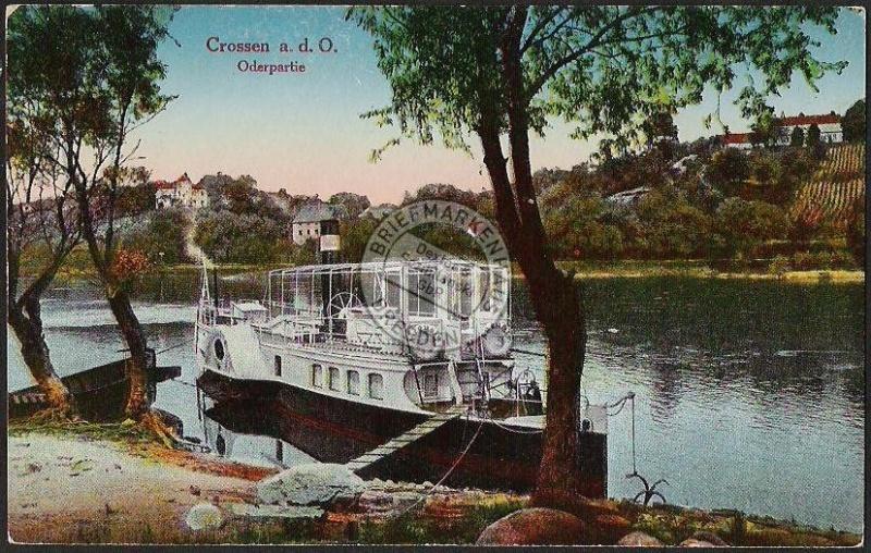 Crossen an der Oder Dampfer