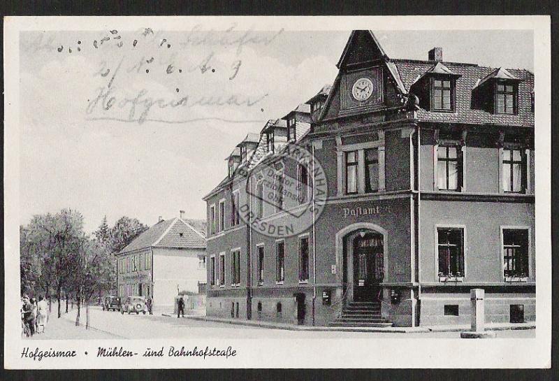 Hofgeismar Mühlen u. Bahnhofsstrasse Post