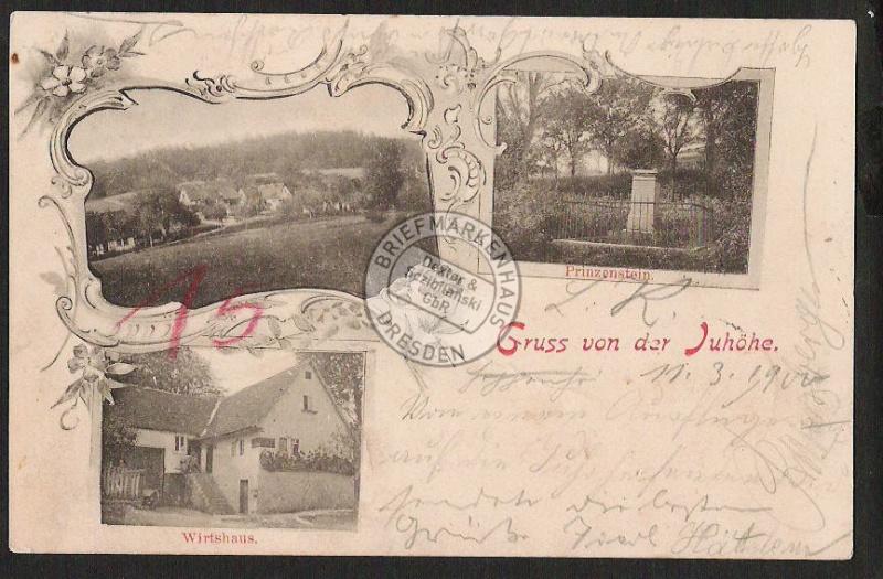 Juhöhe Prinzenstein Wirtshaus Laudenbach Amt W