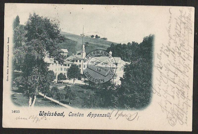 Weissbad Canton Appenzell 1903