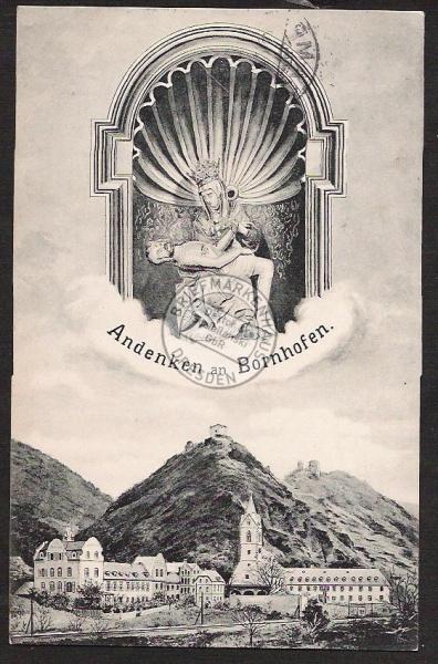 Bornhofen Camp 1912 Kloster ?