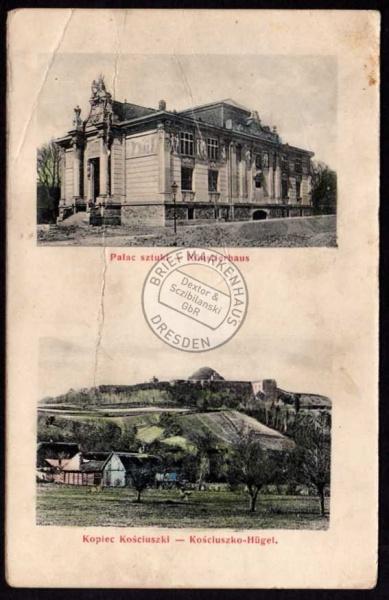 Kopiec Kosciuszki Künstlerhaus 1906