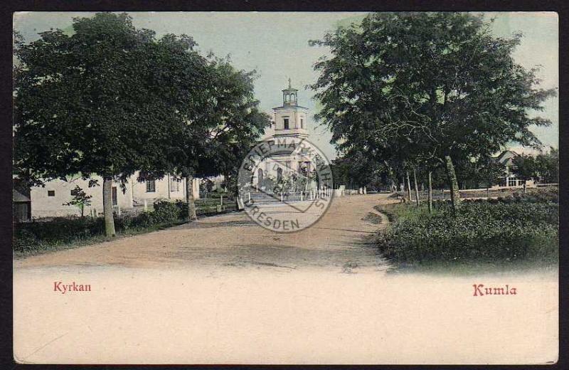 Kumla Kyrkan Kirche 1905