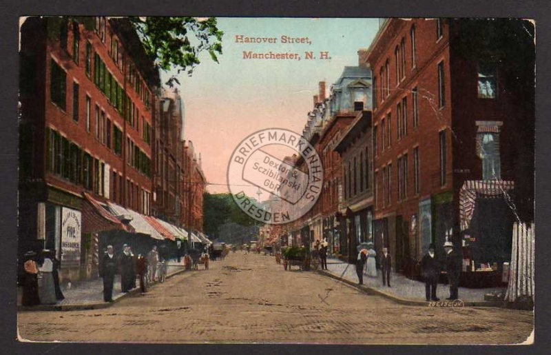Manchester N.H. Hanover Street