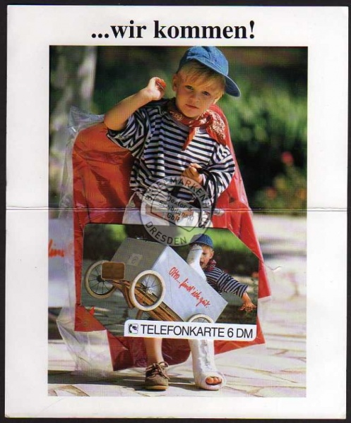Telefonkarte O481 02.94 Otto find ich gut
