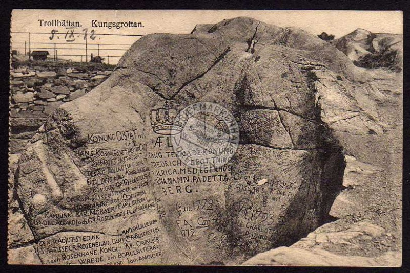 Trollhättan Kungsgrottan 1912