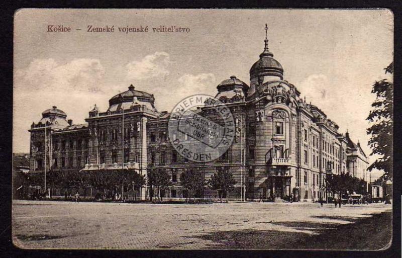 Košice Kosice Zemske vojenske velitelstvo 1919
